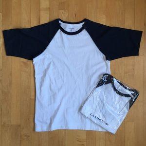 Lot of 2 sz 14-16 Lands End t-shirts, 💯 cotton